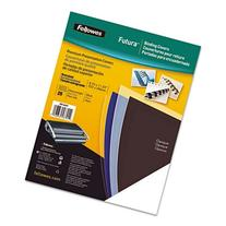 Fellowes Binding Presentation Covers, Oversize Letter, Clear