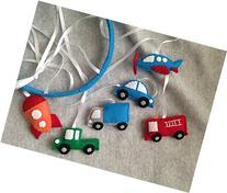 Transportation Baby Mobile, Cars, Trucks, Rocket, Fire Truck