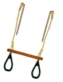 Trapeze Ring Swing Set Play Set Playground Trapeze Bar