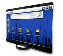 """The Traveler - 14"""" Portable Laser Projection Screen"""