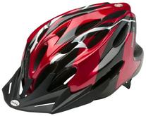 Traveler Adult Bicycle Helmet, Red/Black