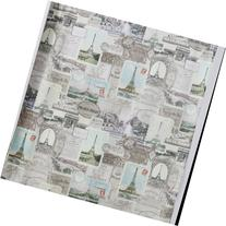 Travelers Journal Shower Curtain by Creative Bath Products
