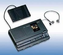 Sanyo TRC8080  Analog Standard Cassette Transcriber w/