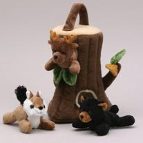 Tree Finger Puppet Play House 8