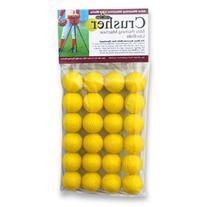 Trend Sports Mini Yellow Foam Dimple Balls - 2 Dz