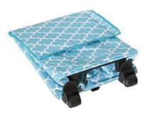 Smart Cart, Moroccan Tile Rolling Multipurpose Collapsible