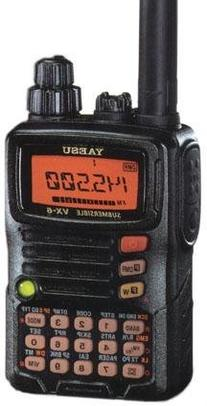 Tri-Band Yaesu VX-6R Submersible Amateur Ham Radio