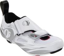 Pearl iZUMi Women's Tri Fly IV Carbon Cycling Shoe,White/
