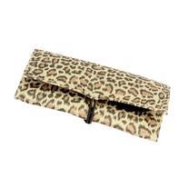 Tri-Fold Jewelry Organizer, Leopard Print