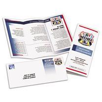 Tri-Fold Brochures for Inkjet Printers, Matte, 8-1/2 x 11,
