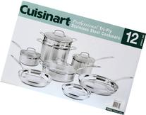 4CA0575 - Cuisinart MultiClad Pro Triple Ply Stainless 12-