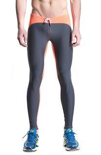 DESMIIT Men's Triathlon Tights Fitness Pants US M Asian XL