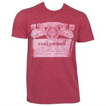 Budweiser Triblend Faded Tee Shirt
