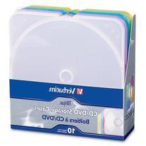 Verbatim TRIMpak CD and DVD Storage Cases - 5 Assorted