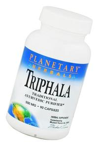 Planetary Herbals Triphala Ayurvedic Purifier 500 mg