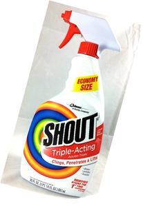 Shout Triple-action Spray, Economy Size 30 Fl.oz