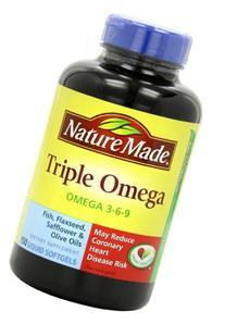Nature Made Triple Omega Liquid Softgels Value Size