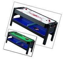 Triple Threat 6' 3-IN-1 Flip Table and Accessories Table