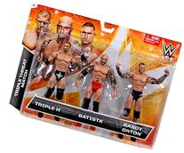 Triple Threat Match Evolution Reunites Action Figure 3-Pack