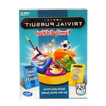 Hasbro Trivial Pursuit Family Edition Game, Game Night, Ages