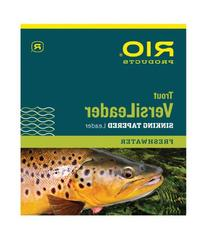 Rio: Trout Versileader, Black/Blue Loop, 7ft 5ips