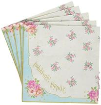 Talking Tables Truly Scrumptious Floral Happy Birthday
