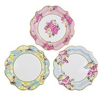 Talking Tables Truly Scrumptious Floral Plates for a Tea