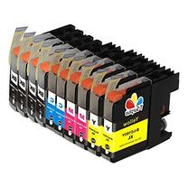 TS 10PK Compatible Ink Cartridges for B - LC103 XL  for