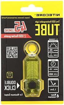 NiteCore Tube Keychain Light T Series 45 Lumen Multi Color