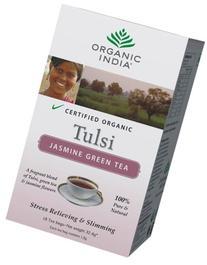 Organic India Tulsi Jasmine Green - 18 Tea Bags