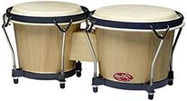 Stagg BW-70-N 6-Inch & 7-Inch Traditional Wooden Bongo Set