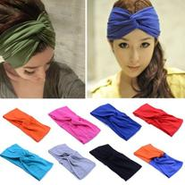 Women Turban Twist Headband Head Wrap Twisted Knotted Knot