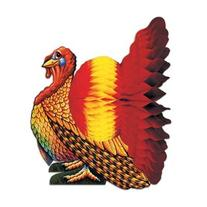 Turkey Centerpiece Decorations Pkg/3