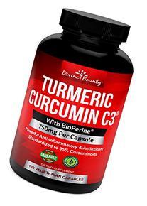 Turmeric Curcumin with BioPerine Black Pepper Extract -