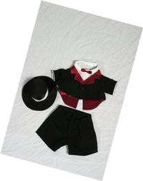 "Tuxedo Outfit Teddy Bear Clothes Fit 14"" - 18"" Build-a-bear"