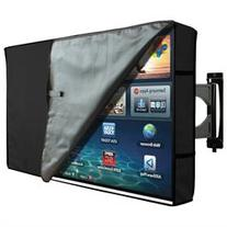 TV Cover Outdoor Waterproof Protector Black With Clear