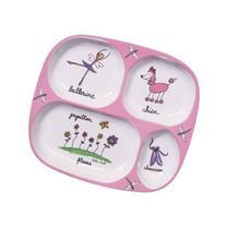 Baby Cie Ballerina-Pink Tv Tray, Multicolor