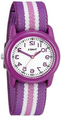 Timex Kids TW7C06100 Purple Resin Watch with Purple/Pink