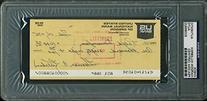 Twins Harmon Killebrew Authentic Signed 1975 Check