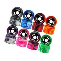 Sure-Grip Twister Wheels - pink/black