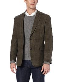 Tommy Hilfiger Men's Two Button Side Vent Ethan Shetland