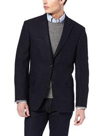 Tommy Hilfiger Men's Two Button Side Vent Gibbs Feather