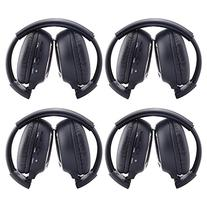 Ouku®4 Pack of Two Channel Folding Rear Music Entertainment