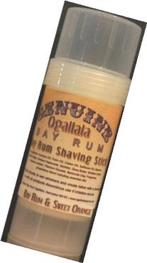 Two  Genuine Ogallala Bay Rum Rum and sweet orange shaving