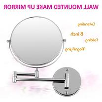 Excelvan 10x Magnification 8 Inch Double-Sided Swivel Wall