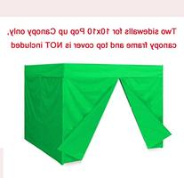 Two Sidewalls for 10x10 Pop up Tent Canopy Side Walls With