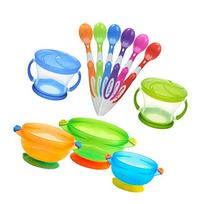 Munchkin Two Snack Catchers with 6 Pack Soft-Tip Infant