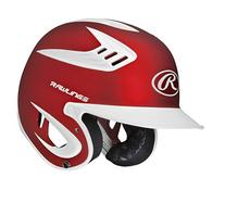 Rawlings 80 MPH Two Tone Translucent Matte Batting Helmet,