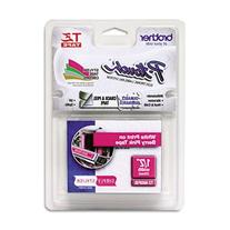 "TZ Standard Adhesive Laminated Labeling Tape, 1/2"""" x 16.4"
