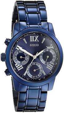 GUESS Women's U0448L5 Iconic Blue Multi-Function Watch